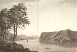 A View of a remarkable headland called St. Antony's Nose, on the North River, Province of New York